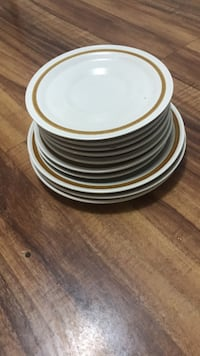 white and brown ceramic plate Kaysville, 84037