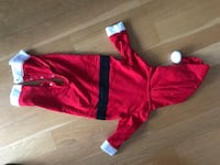 Baby Santa Claus Christmas Outfit 6-9 months  New York, 10036