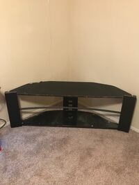 Tv stand with glass shelves  Houston, 77081