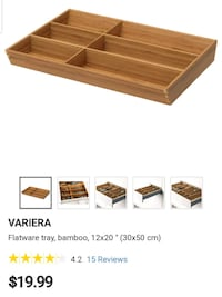ikea utensil trays  Welland, L3B 3V6