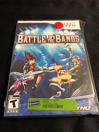Wii Battle of the Bands game  Gatineau, J8T 1Y1