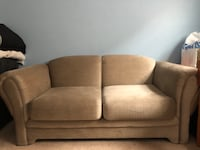 Brown fabric couch set Oyster Bay, 11758