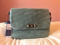 NWT Rebecca Minkoff Soft Leather Blue Je T'aime Messenger Purse  Toronto, M6S