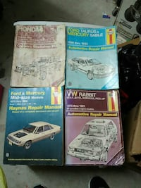Lot of vintage auto repair manuals Farmington, 87401
