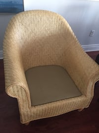 Sturdy Hauser rattan chair London, N6B 3L6