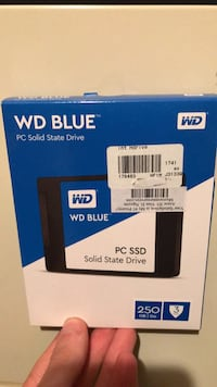 PC Solid State Drive- 250 GB Bristow, 20136