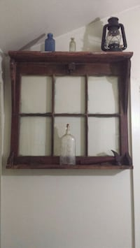Vintage up cycled wood framed window Wanaque, 07420