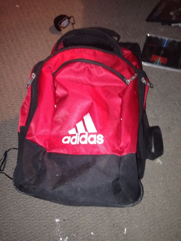 3a9b95b668b1 Used red and black Adidas backpack for sale in Brantford - letgo
