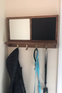 Entry way board and coat hanger Springfield, 22153
