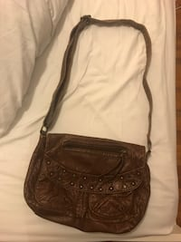 Brown adjustable cross body bag  Montréal, H9H 2N4