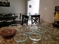 10 pyrex mixing bowls Snellville, 30039