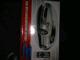 Car mp3 player with USB sf port with remote