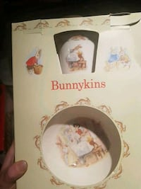3 piece children's bunnykins set Calgary, T2W