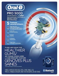 Oral-B Pro 5000 Smartseries Power Rechargeable Ele Coquitlam