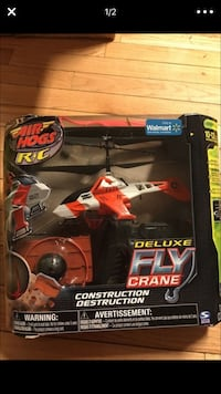 Air Hogs Deluxe Fly Crane box Chicago, 60608