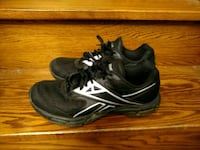 pair of black-and-white New Balance sneakers Toronto, M8V 3A8
