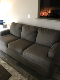 broyhill couch with memory foam sofa bed Colorado Springs, 80918