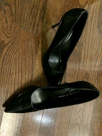 Black leather pumps: Singapore purchased Toronto, M5G 0A6