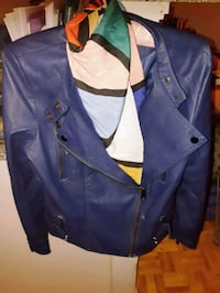 California Ceilo-designed Purple Leather Jacket Toronto, M6H 2B1