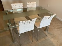 white wooden dining table set Fairfax, 22033