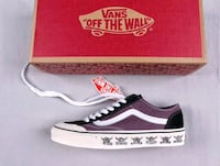 VANS OFF THE WALL SHANTOU STYLE CANVAS SKATE SHOE