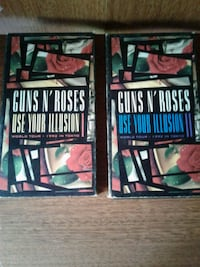 Guns n roses vhs tapes live from Tokyo 1992 Brant, N3L 3L5