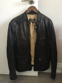 Leather Motorcycle Jacket (Danier) Toronto, M4L 3P3