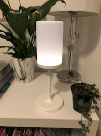 bedside lamp with bluetooth speakers
