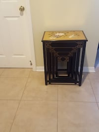 brown wooden nesting table Orlando, 32837