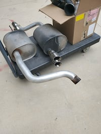 2006 stock corvette exhaust and intake