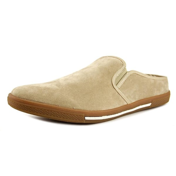 Kenneth Cole Reaction Mens Slow Down Slippers (Tan, 7 M)