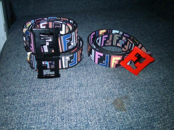 two black belts 40.00 each Red one 40.00