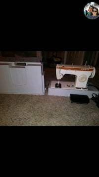 white and black sewing machine Citrus Heights, 95610