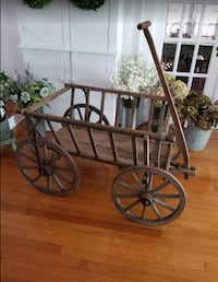 BEAUTIFUL ANTIQUE GOAT CART