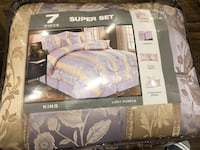 7 piece King Bed Set (Brand new) Vaughan, L4K 1A8