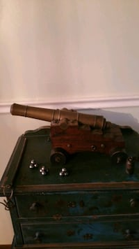 Cannon With Brass Barrel Perrysburg, 43551