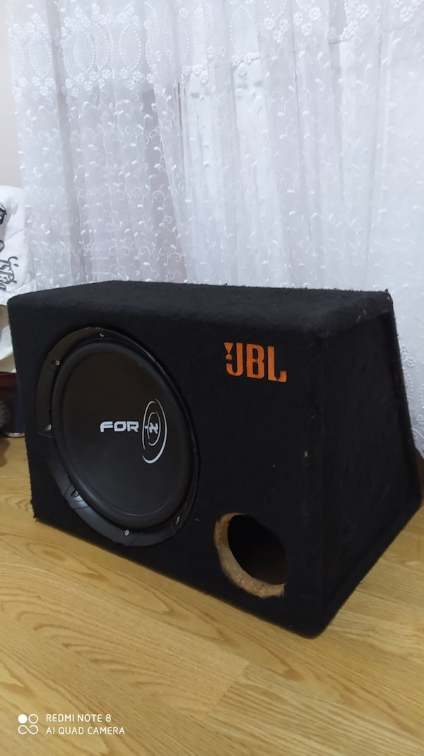FOR-X KABİNLİ SUBWOOFER 300 RMS! 2