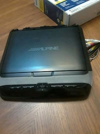 DVD player for vehicle