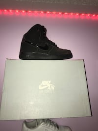 All Black High Top Air Forces Mississauga