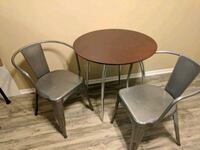 Table with two metal chairs Anaheim, 92806