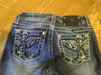 Miss mee's little girl jeans size 10