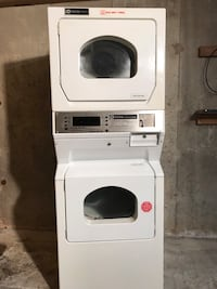 Maytag Coin Op Commercial Dryer Set