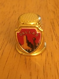 Dallas metal thimble