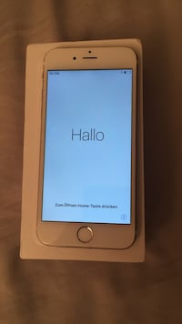 Gold iphone 6 with box