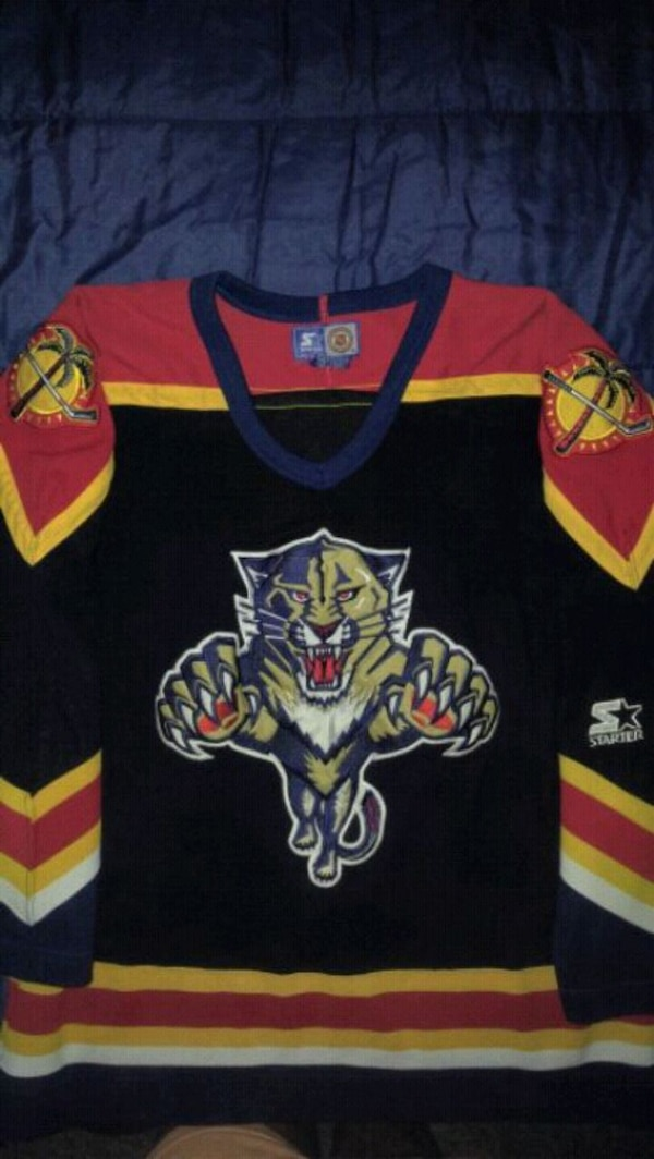 newest b348f 72b96 FL Panthers Vintage Hockey Jersey