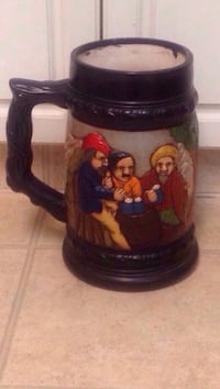 """Large Hand Crafted Stein (12"""") Edmonton, T6E 0R2"""