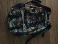 black and gray camouflage backpack Stafford, 22556