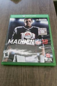 Madden 2018 Xbox One  West Bloomfield Township, 48322