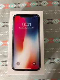 Brand new iPhone X 256gb AT&T