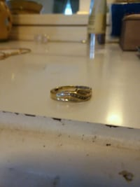 silver-colored ring with box Lima, 45805
